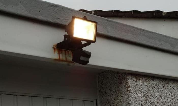 solar light not working