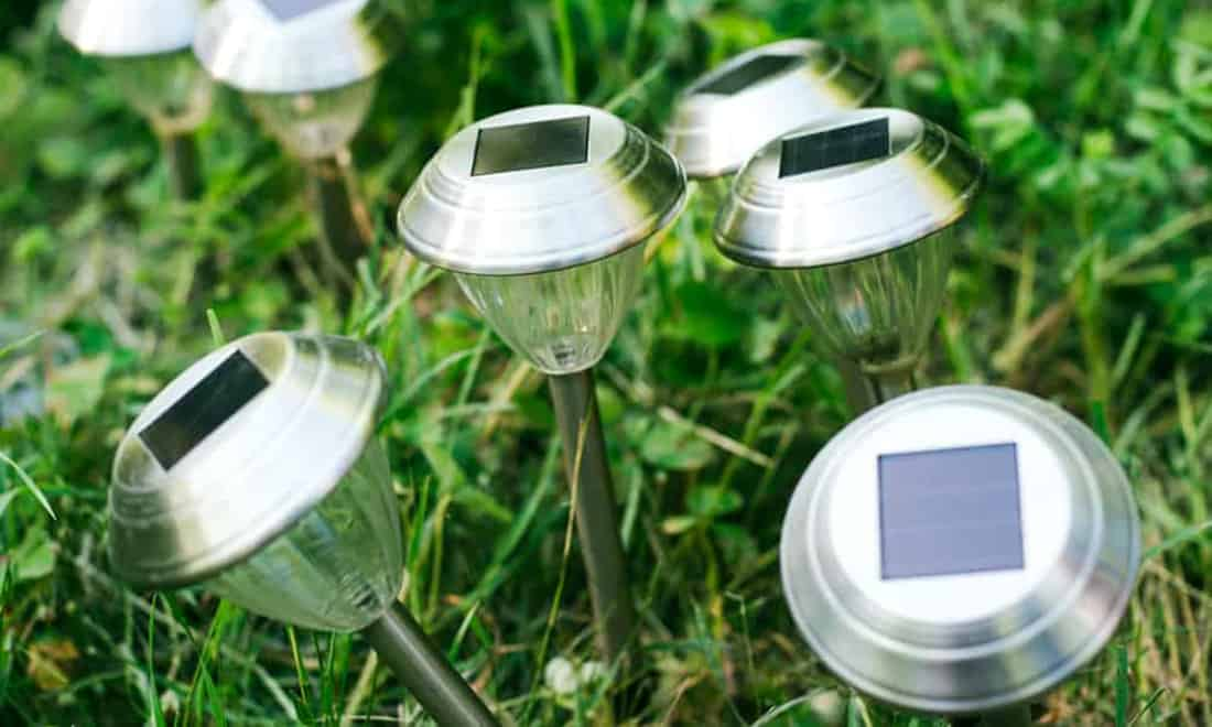 why do my solar lights come on during the day