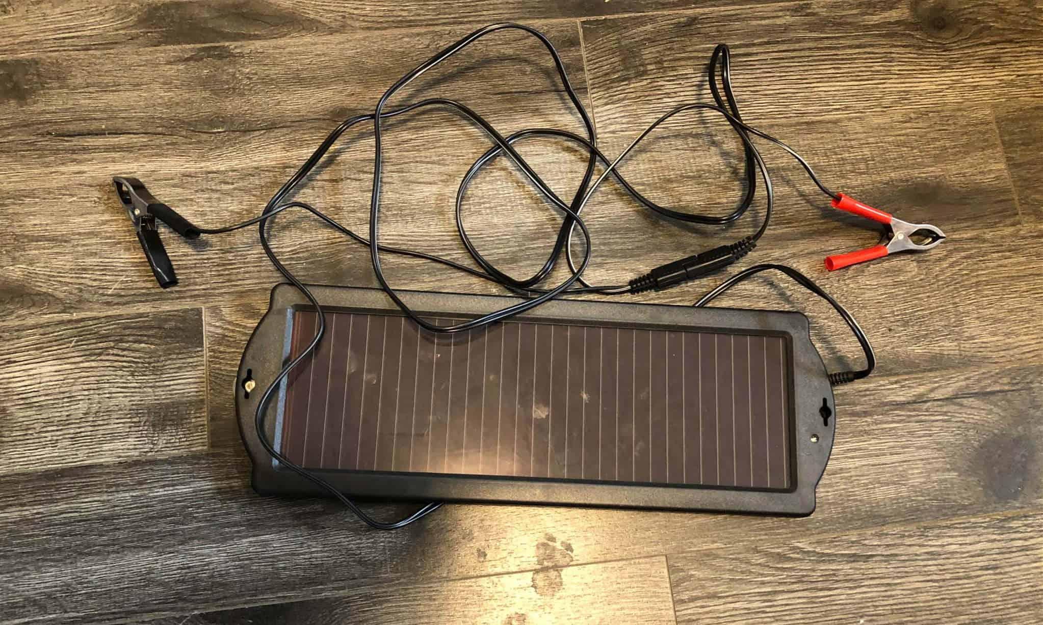 Best 12V Solar Battery Charger