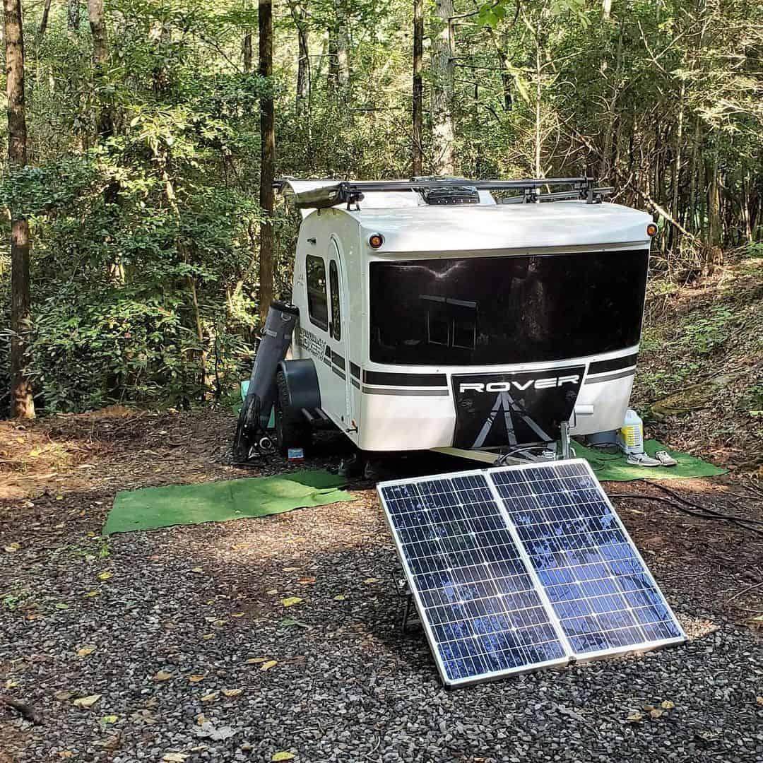 Portable Solar Panel for RV
