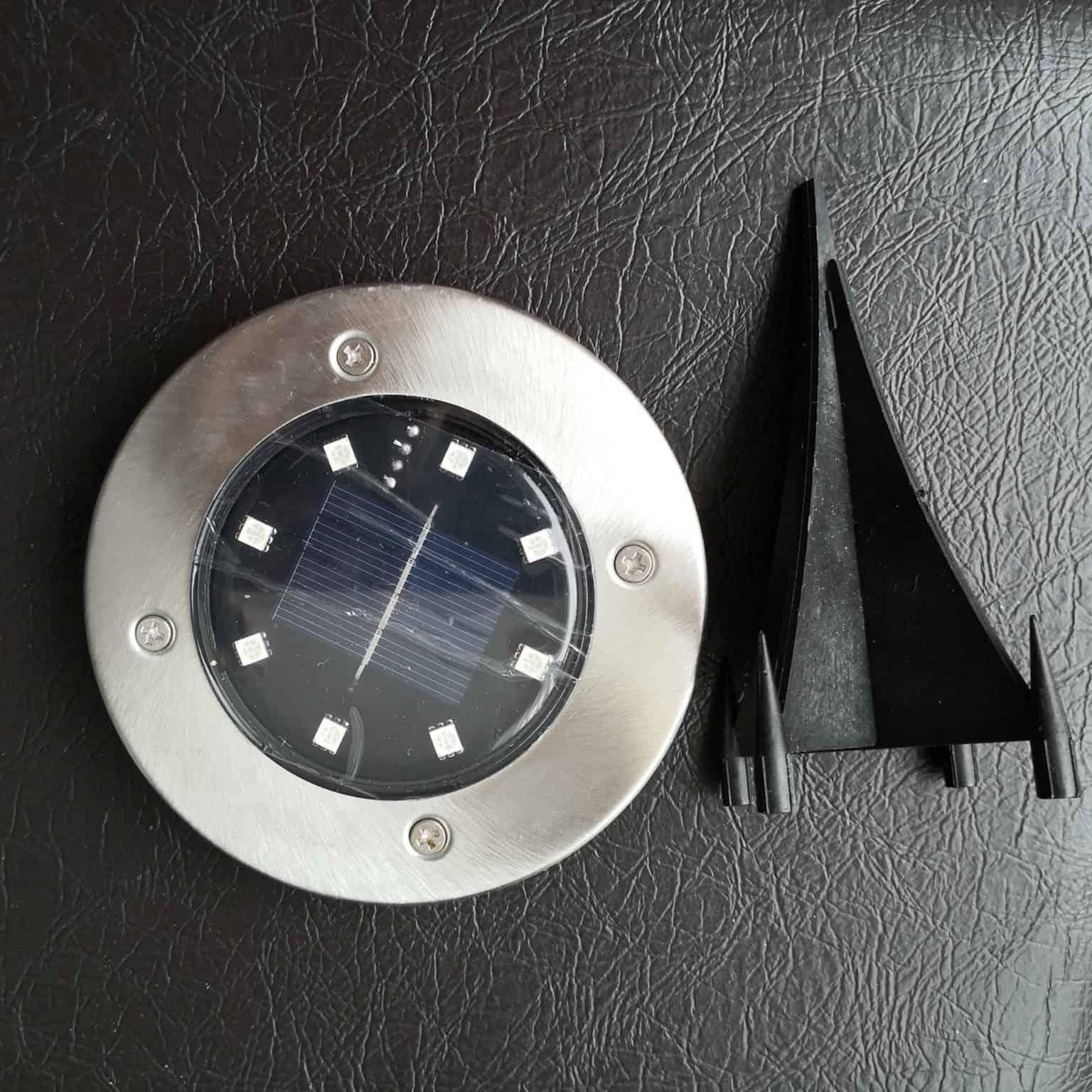 Solar Disk Lights