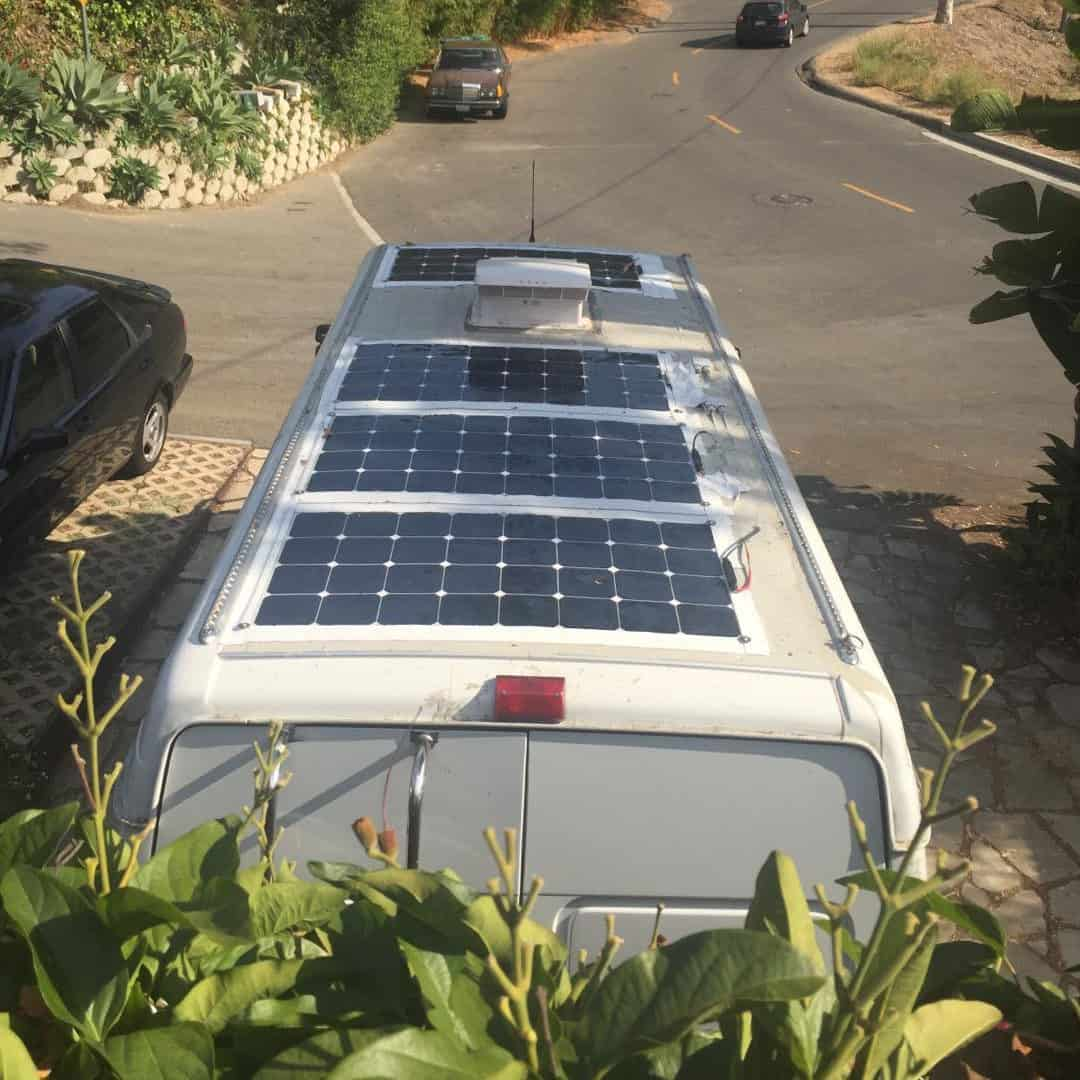 Solar Panels for Van Roof