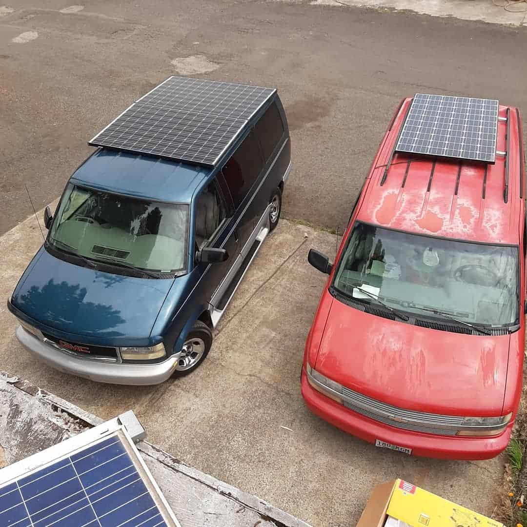 Solar Panels for Vans
