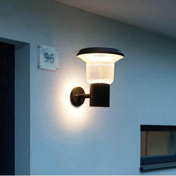 Solar Power Porch Lights