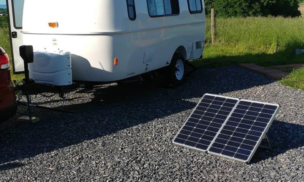 best portable solar panels for rv