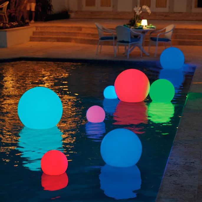 solar power swimming pool lights