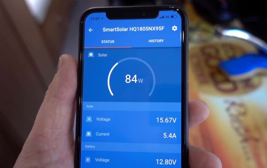 how to connect wires to victron solar charge controller