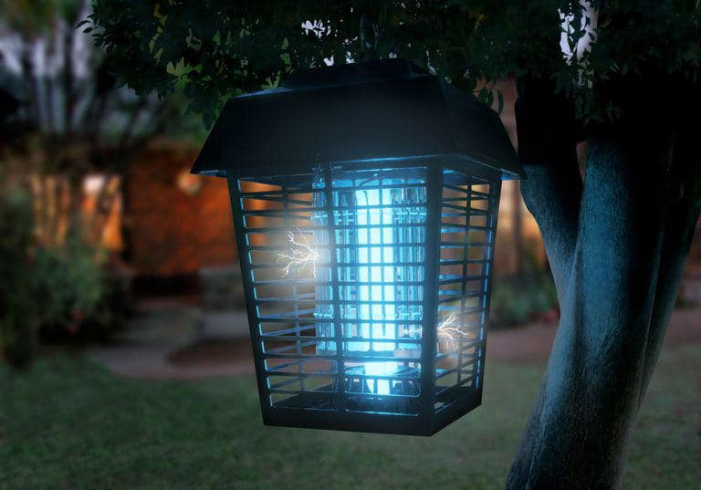 solar powered bug zapper review