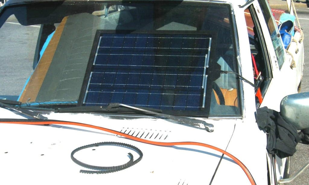 DIY Solar Charger for Car Battery