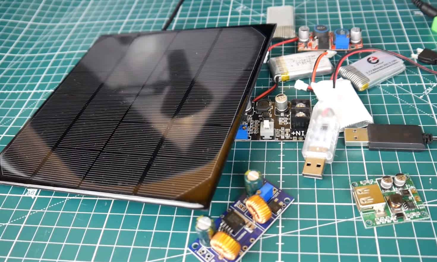 DIY Solar Charger for GoPro