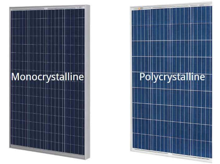 Monocrystalline vs. Polycrystalline