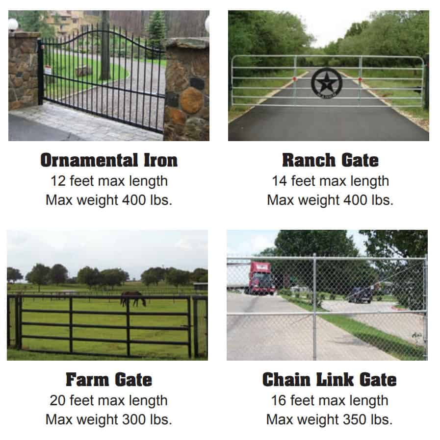 USAutomatic Sentry 300 Commercial Automatic Gate Opener