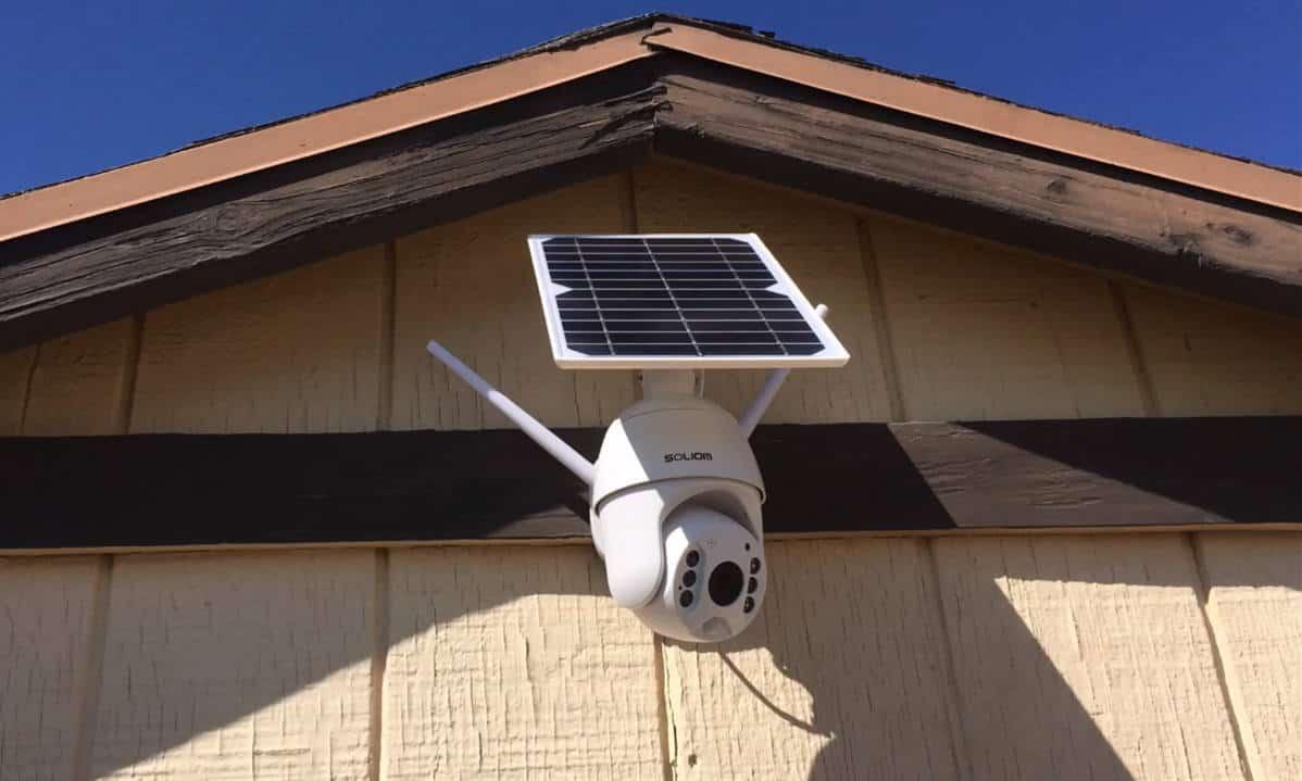 best solar security camera