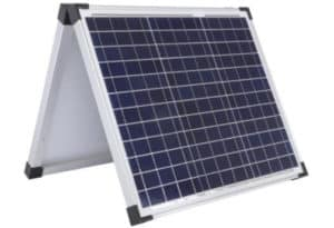 charge battery with solar panel