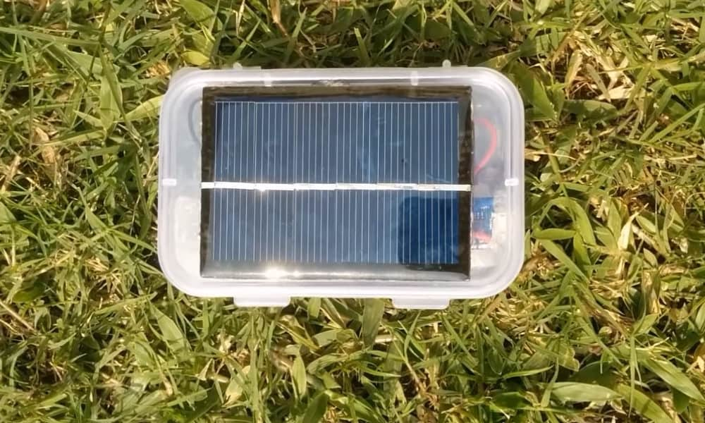 diy solar aa battery charger