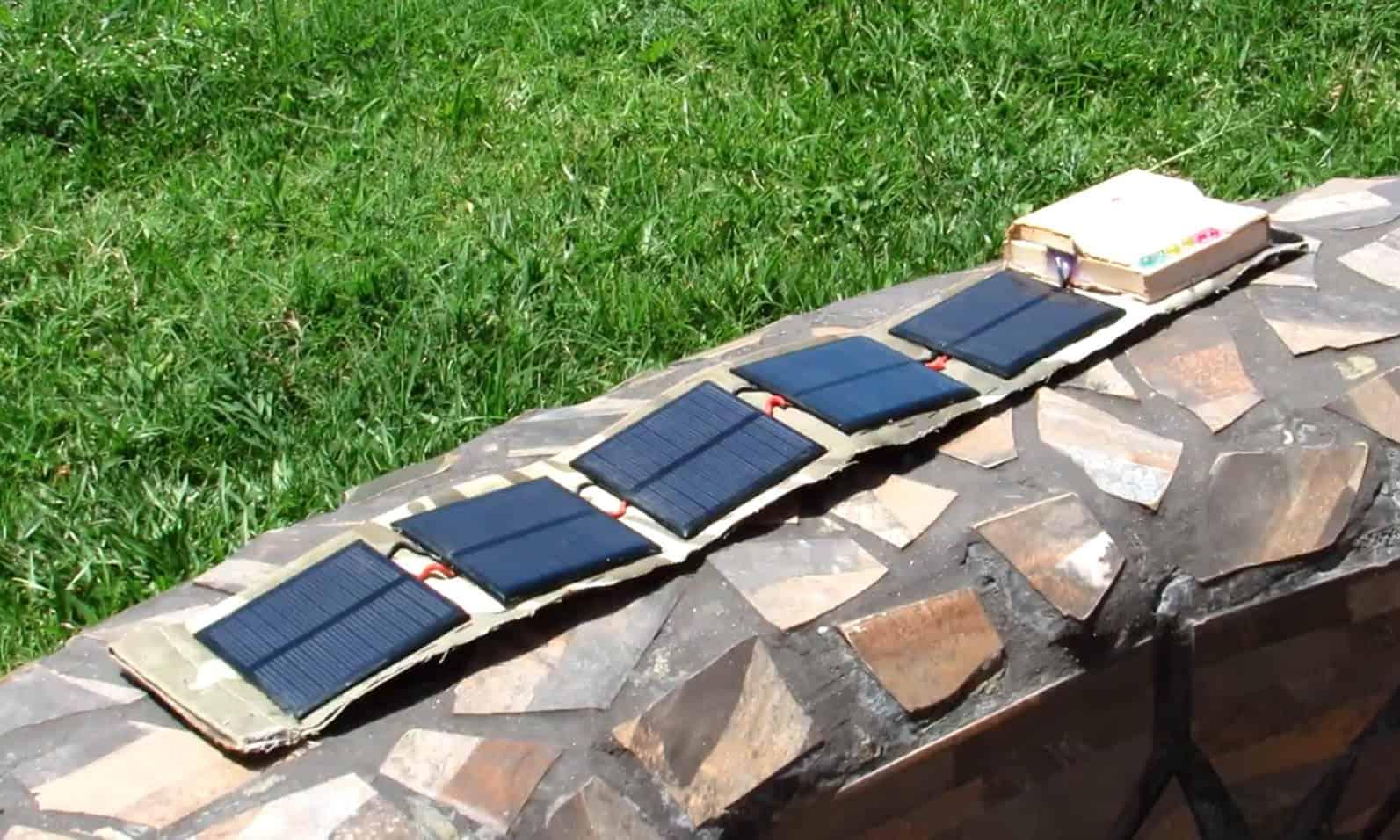 diy solar battery charger 12v