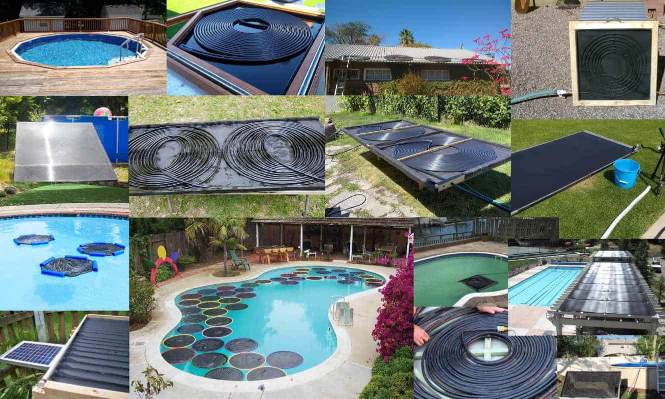 diy solar pool heater ideas