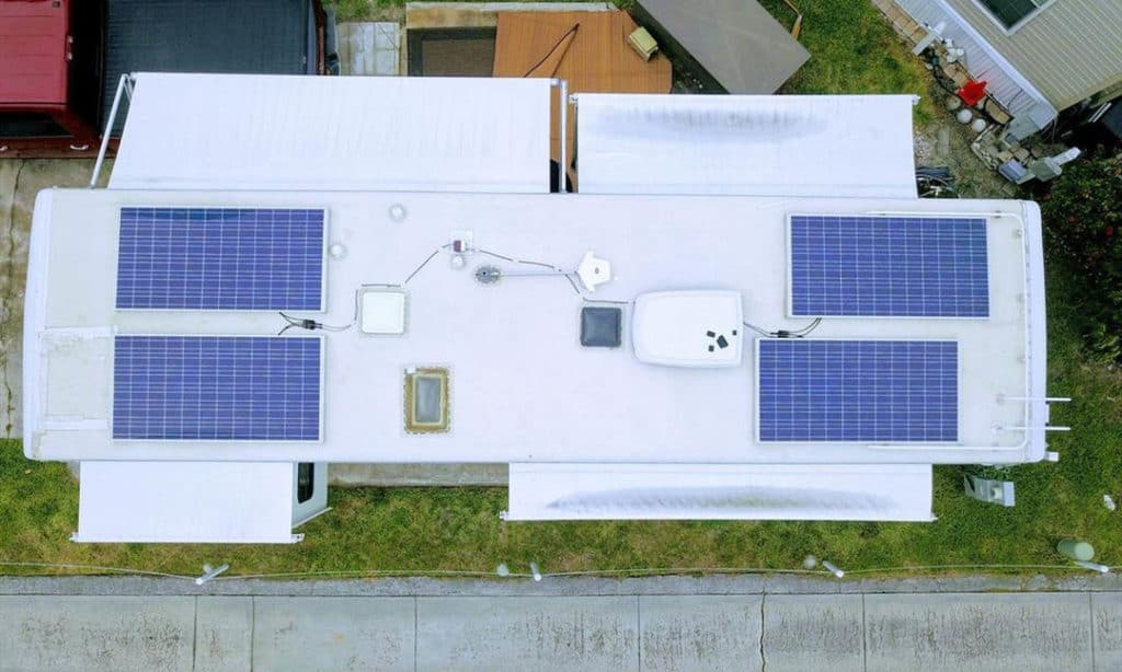 how to install solar panels on rv