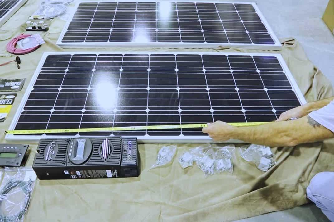 installing solar on rv