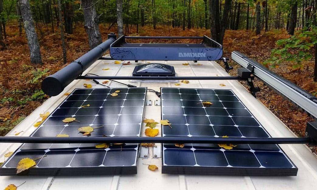 installing solar panels on rv