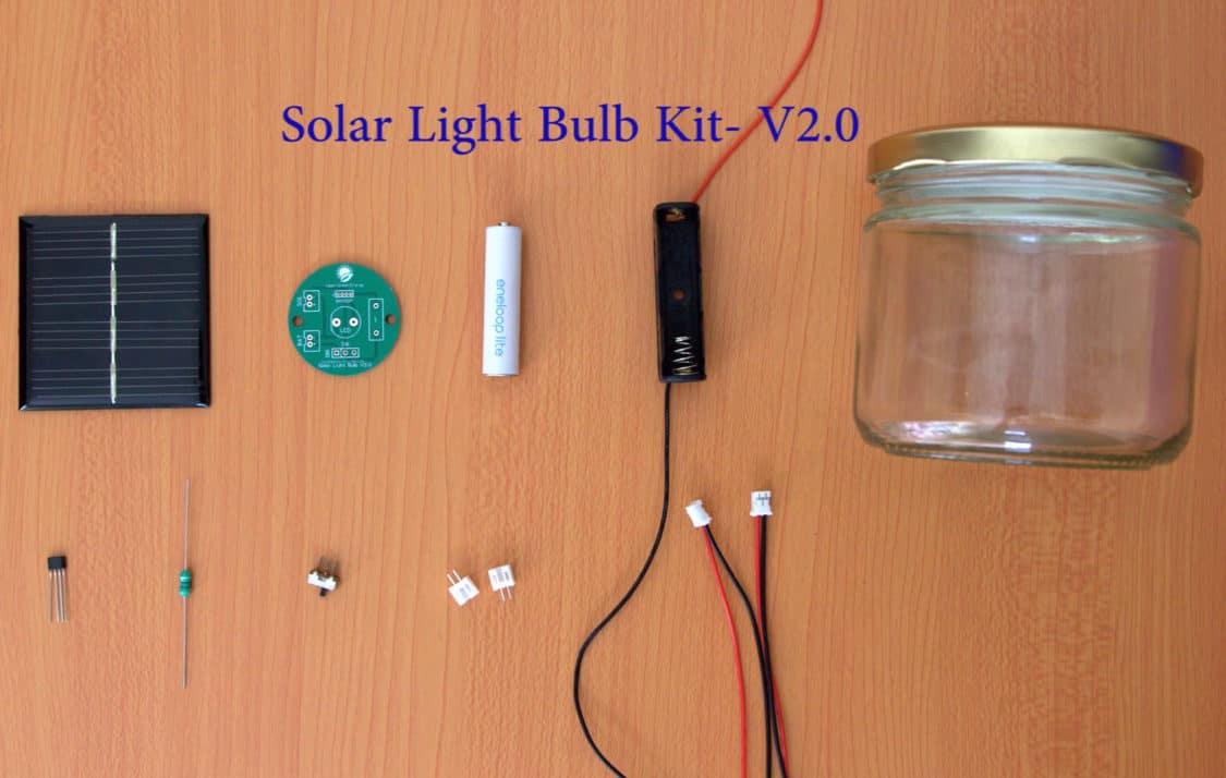 solar light charging circuit