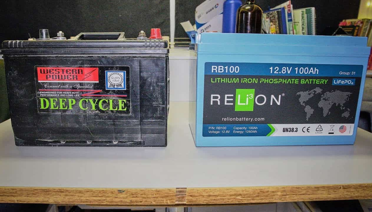 solar panels charge batteries