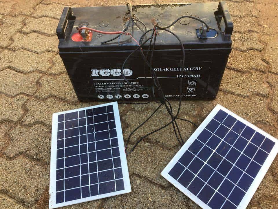 solar power calculation formula