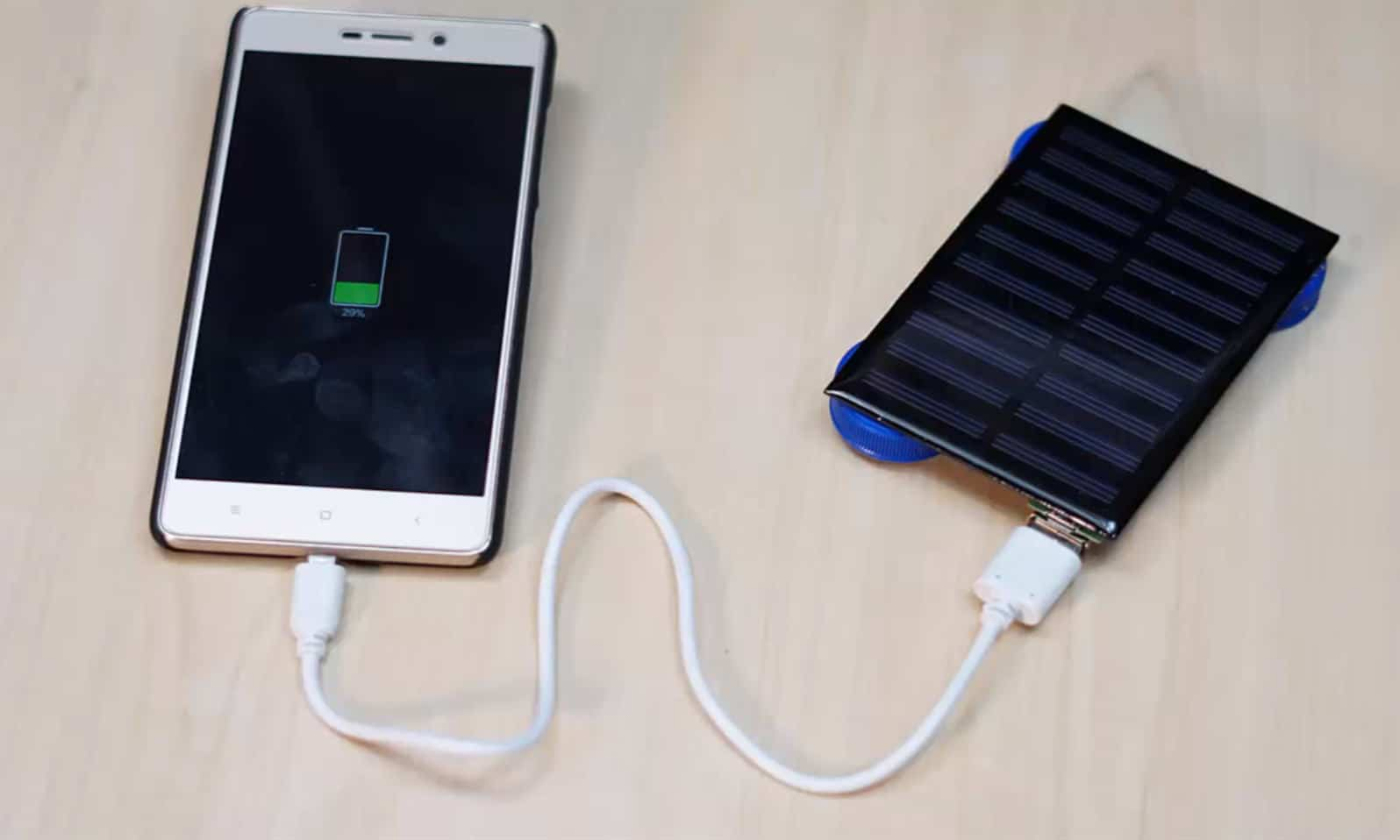 usb solar charger diy