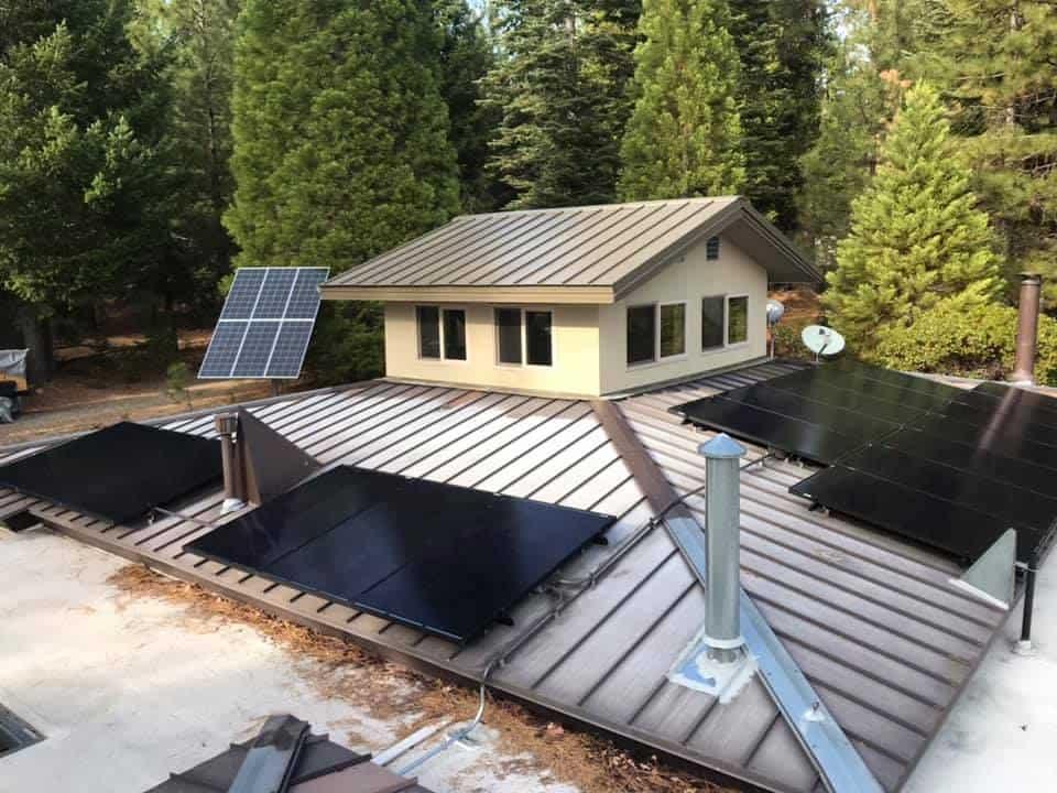 black on black solar panels