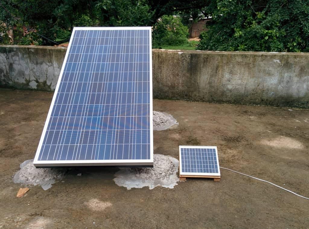 build a solar panal