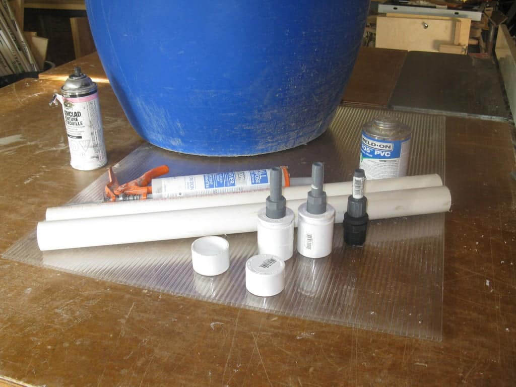 build your own solar water heater