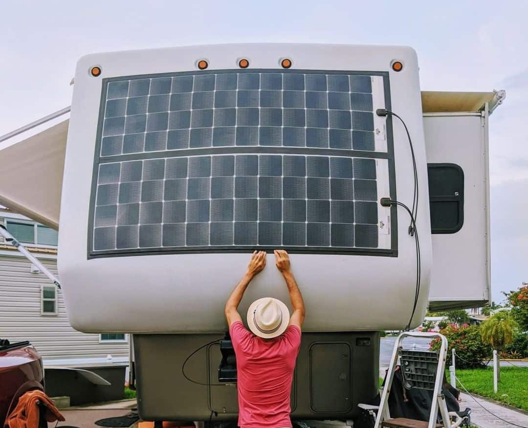 colored solar panels