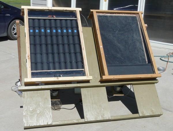 diy solar heating system