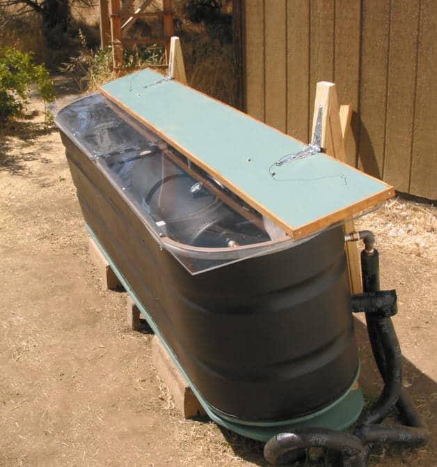 diy solar water heaters