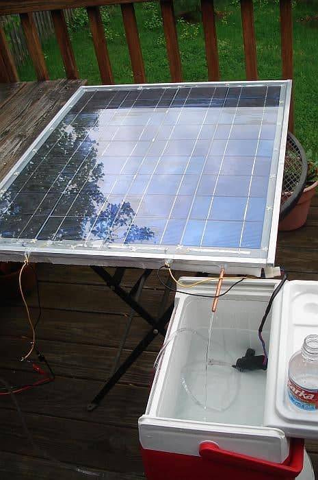 make your own solar panel free instructions