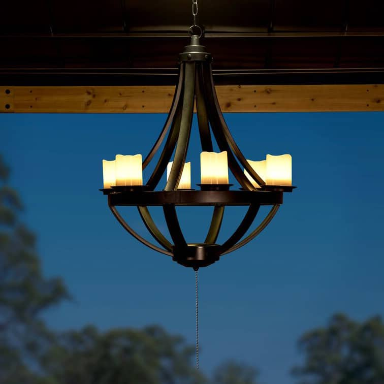 non electric outdoor lights