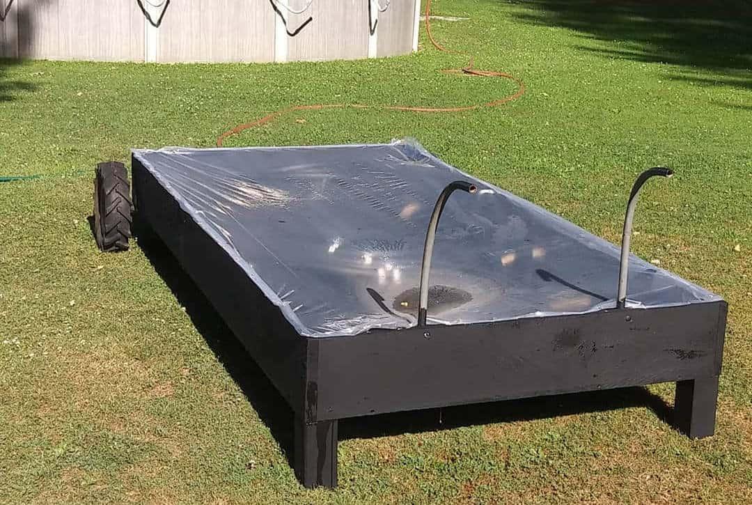 passive solar heater diy