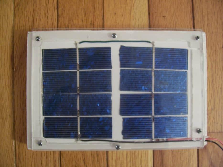 solar panel blueprints