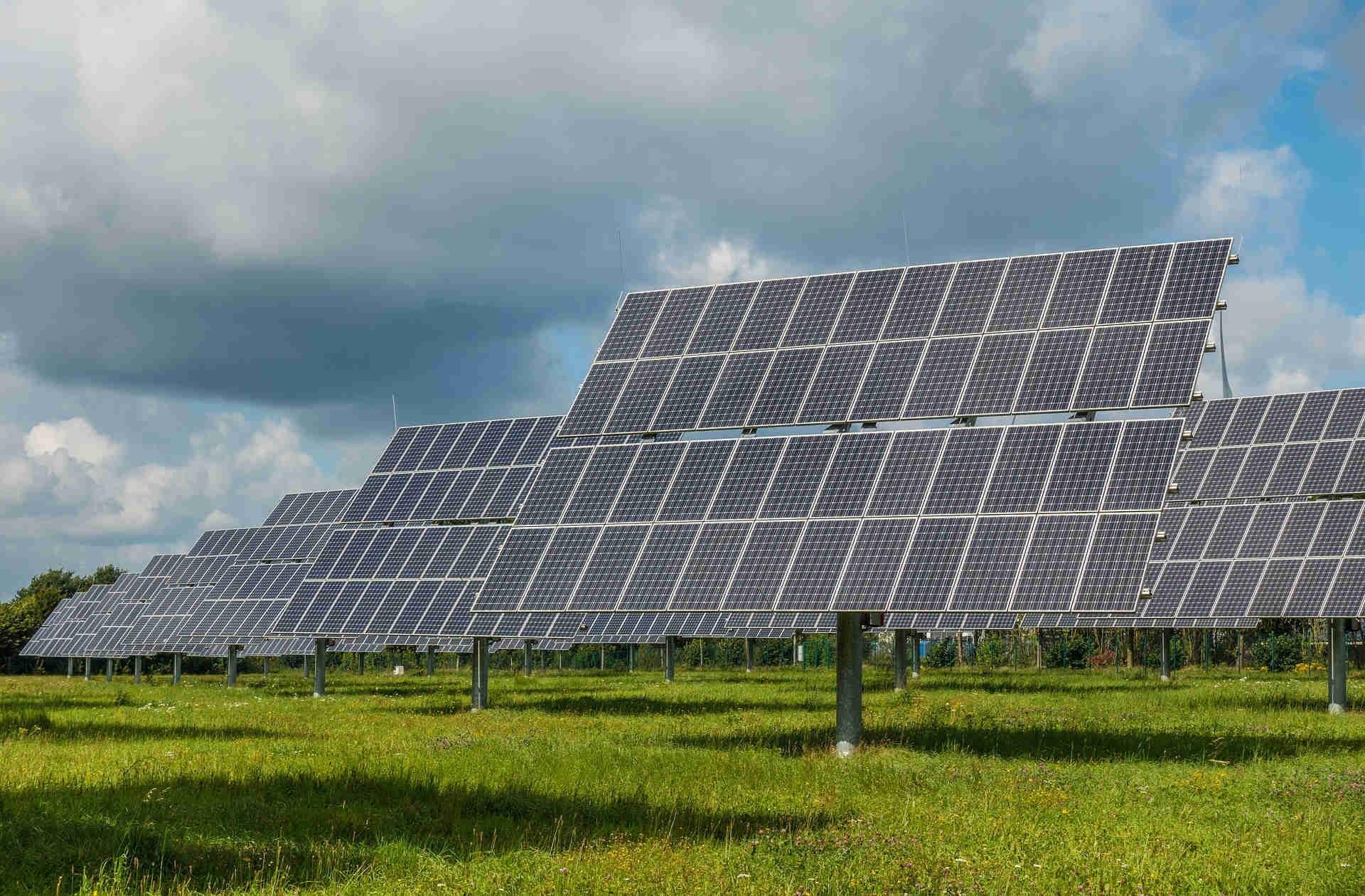 solar panels orientation