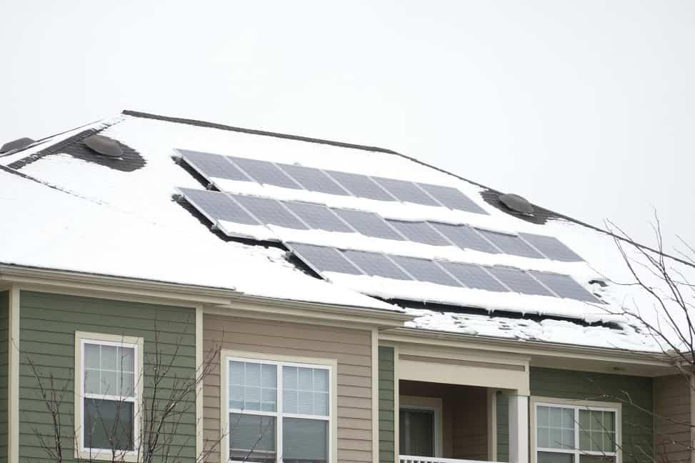 solar panels placement