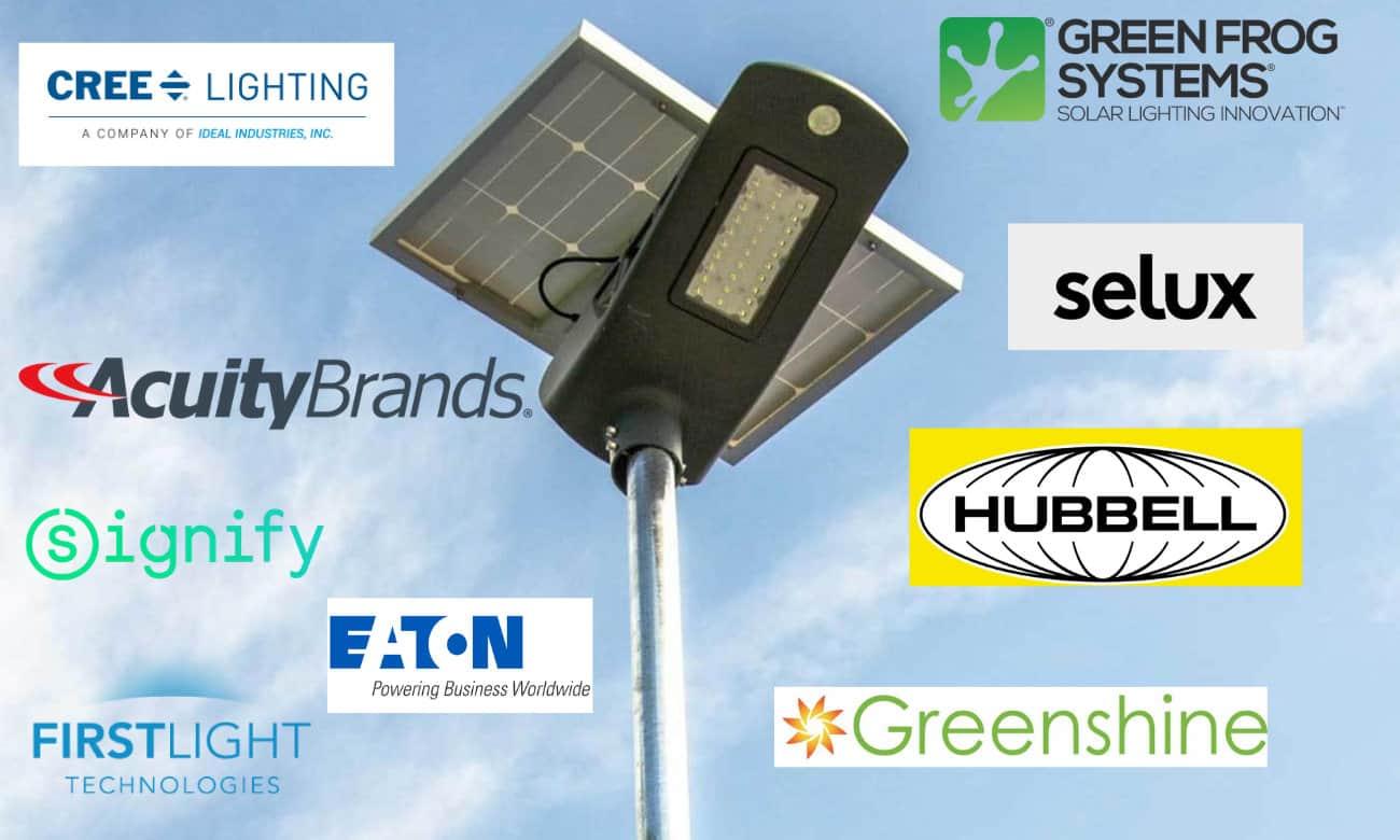 solar street light manufacturers