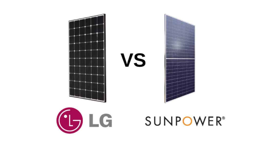 LG vs Sunpower Solar Panels