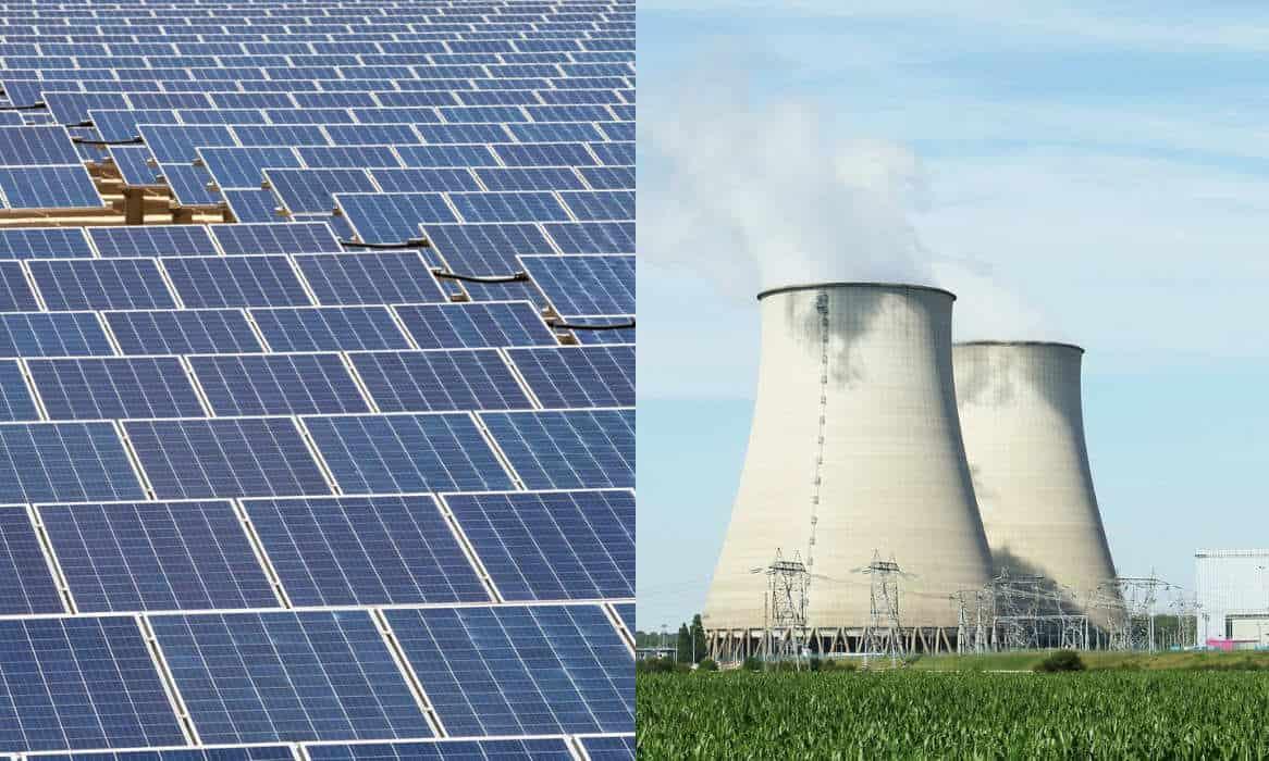 Solar vs. Nuclear