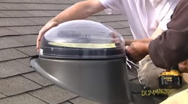 diy skylight tube