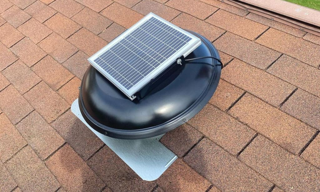 solar attic fan costco