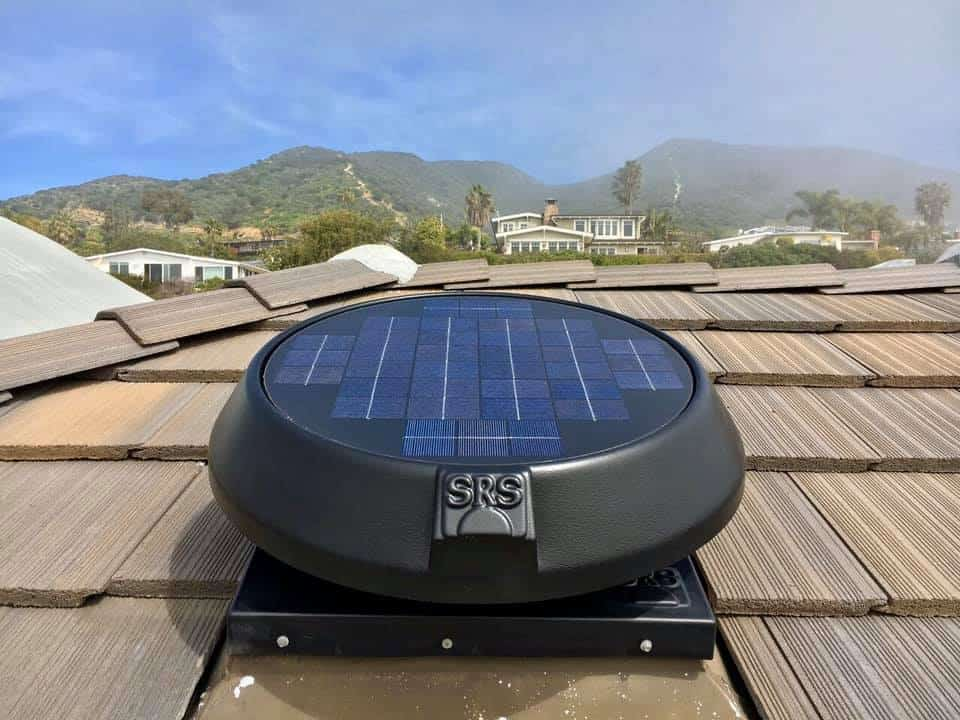 solar power attic fan review