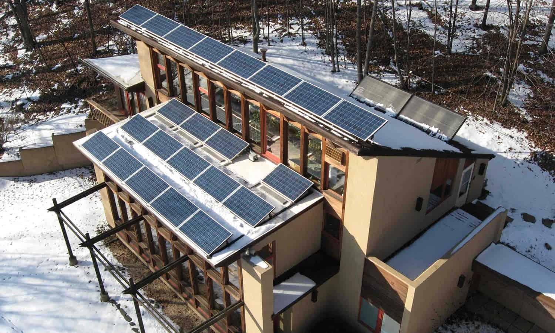 solar panel vermont