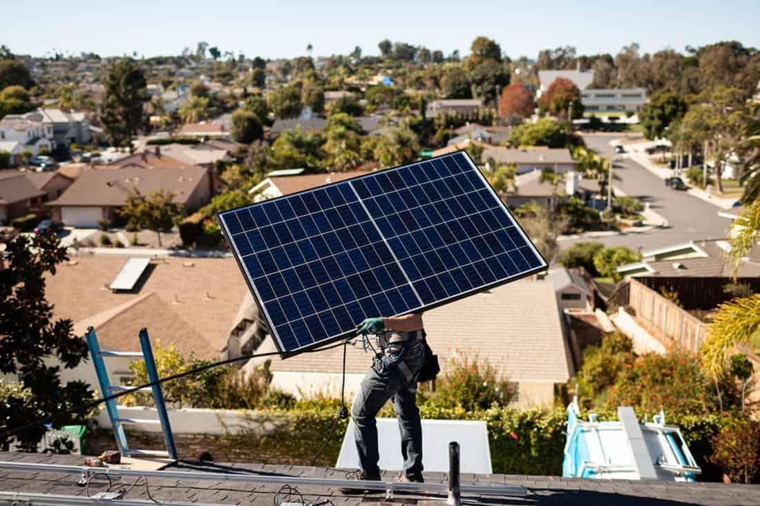 solar panel washington